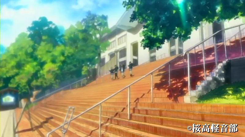京都造形大学階段