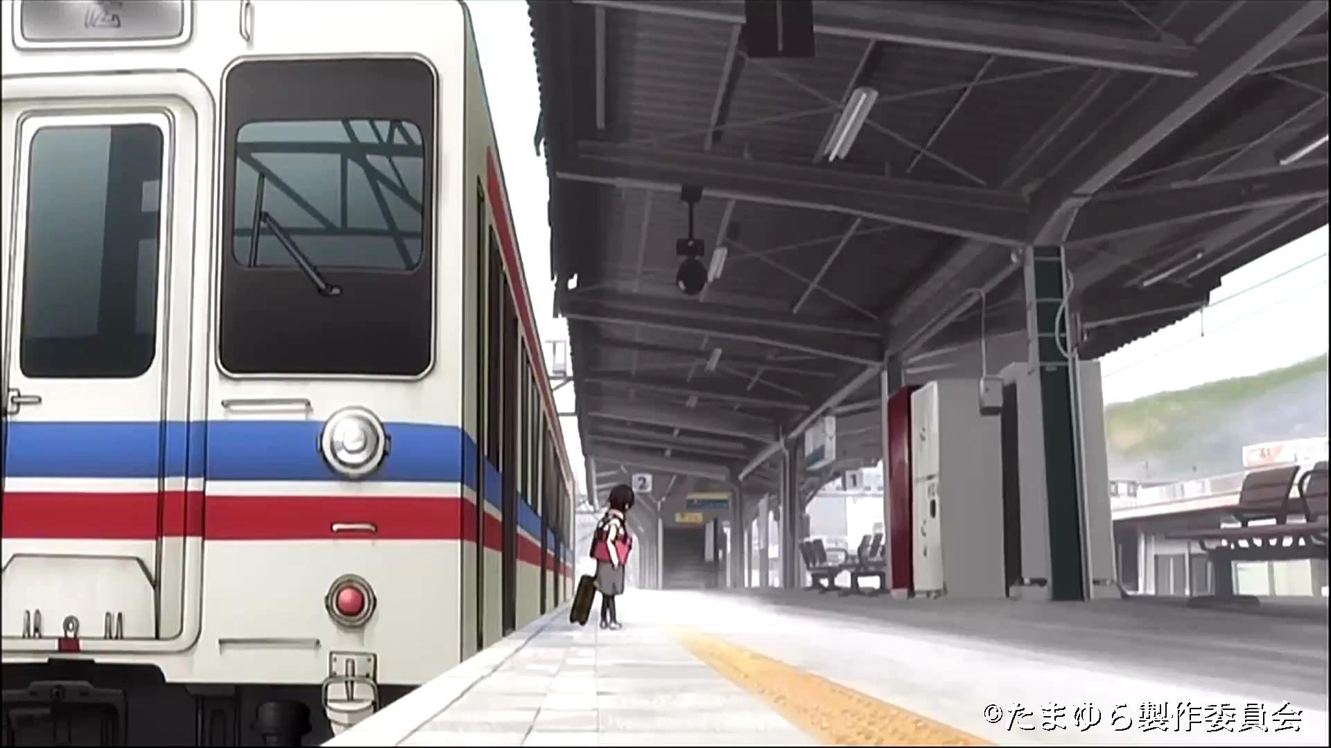 竹原駅ホーム